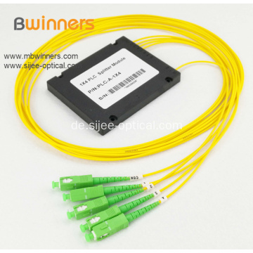1X4 Fiber Optic Splitter Kassettentyp